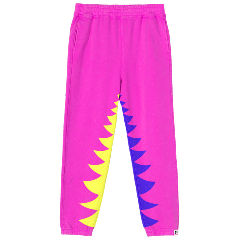 Shark Bite Sweatpants Pink