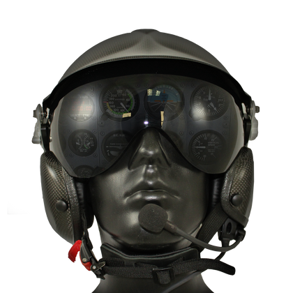Aries Flight Helmet With BOSE A20 Communications
