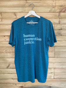 Adult Human Connection Junkie T-Shirt