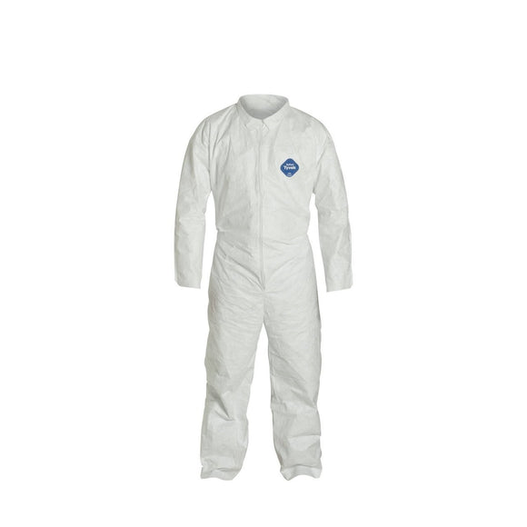 Tyvek Coverall with Elastic Wrists and Ankles