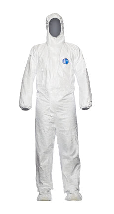 Tyvek Coverall With Hood and Feet