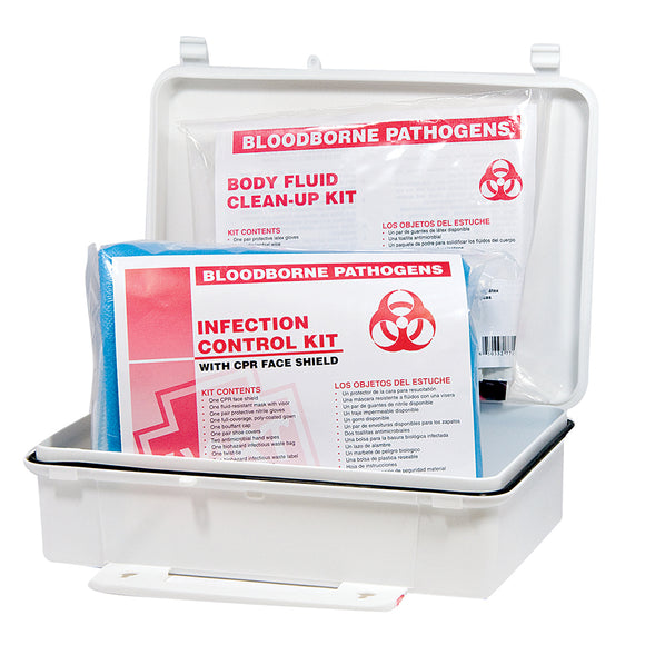 Infection Control and Body Fluid Clean Up Kit