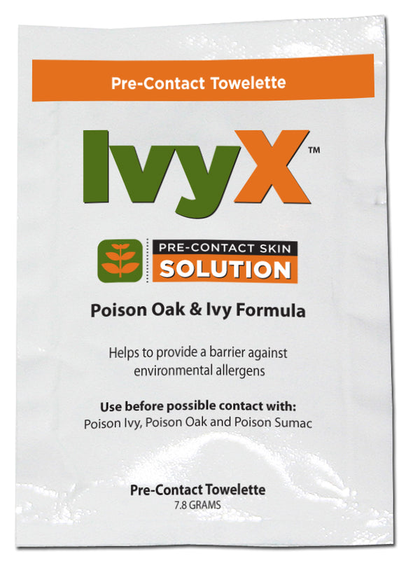 IvyX Poison Oak Wipe