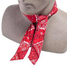 Neck Bandana Red