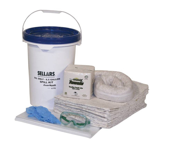 Spill Kit 5 Gallon Oil-only