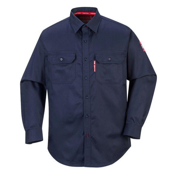 Portwest Flame Resistant Shirt Long Sleeve