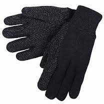 Jersey Gloves With Dots