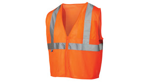 Pyramex Safety Vest Class 2 Mesh Material Orange