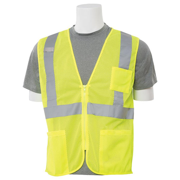 ERB Safety Vest Class 2 Mesh 4 Pockets
