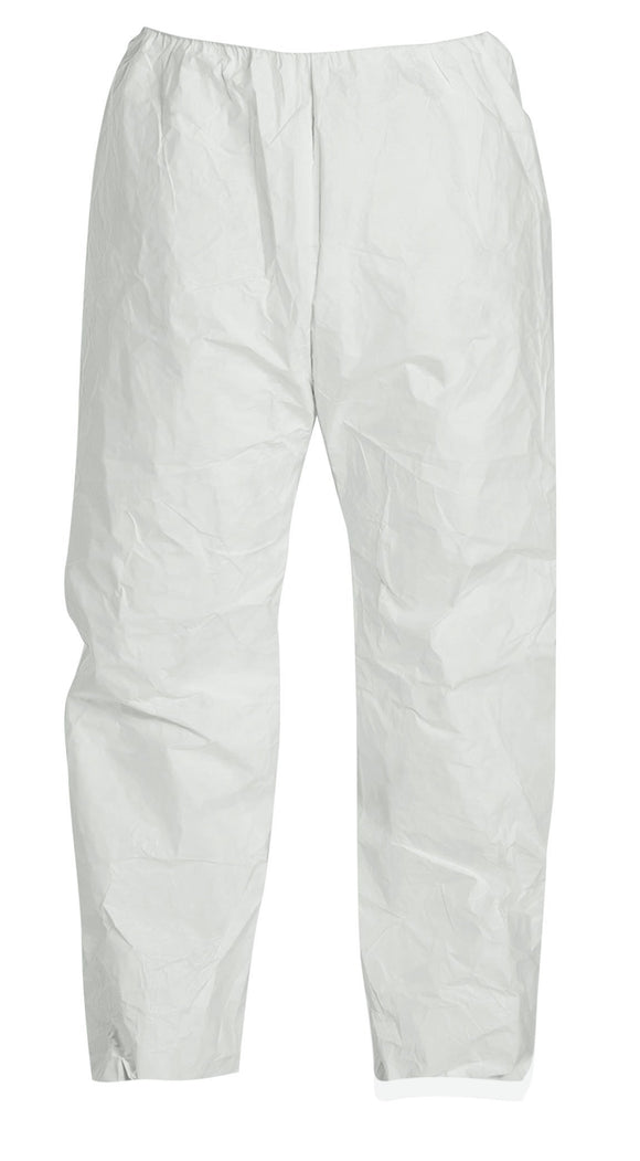 Tyvek Pants with Elastic Waist and Open Ankles