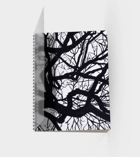 Camus Winter Tree Sketchbook Front Cover