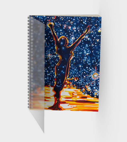 Reach For the Stars Spiral Bound Sketchbook