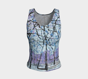 Purple Snow Tank Top: Regular Fit