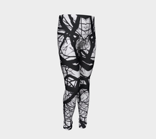 Load image into Gallery viewer, Camus Winter Tree Youth Leggings Sizes for Age 4-12
