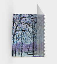 Load image into Gallery viewer, Purple Snow Sketchbook