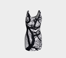 Load image into Gallery viewer, Camus Winter Tree Bodycon Dress