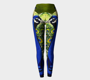 Peacock Pants: Double Trouble Leggings