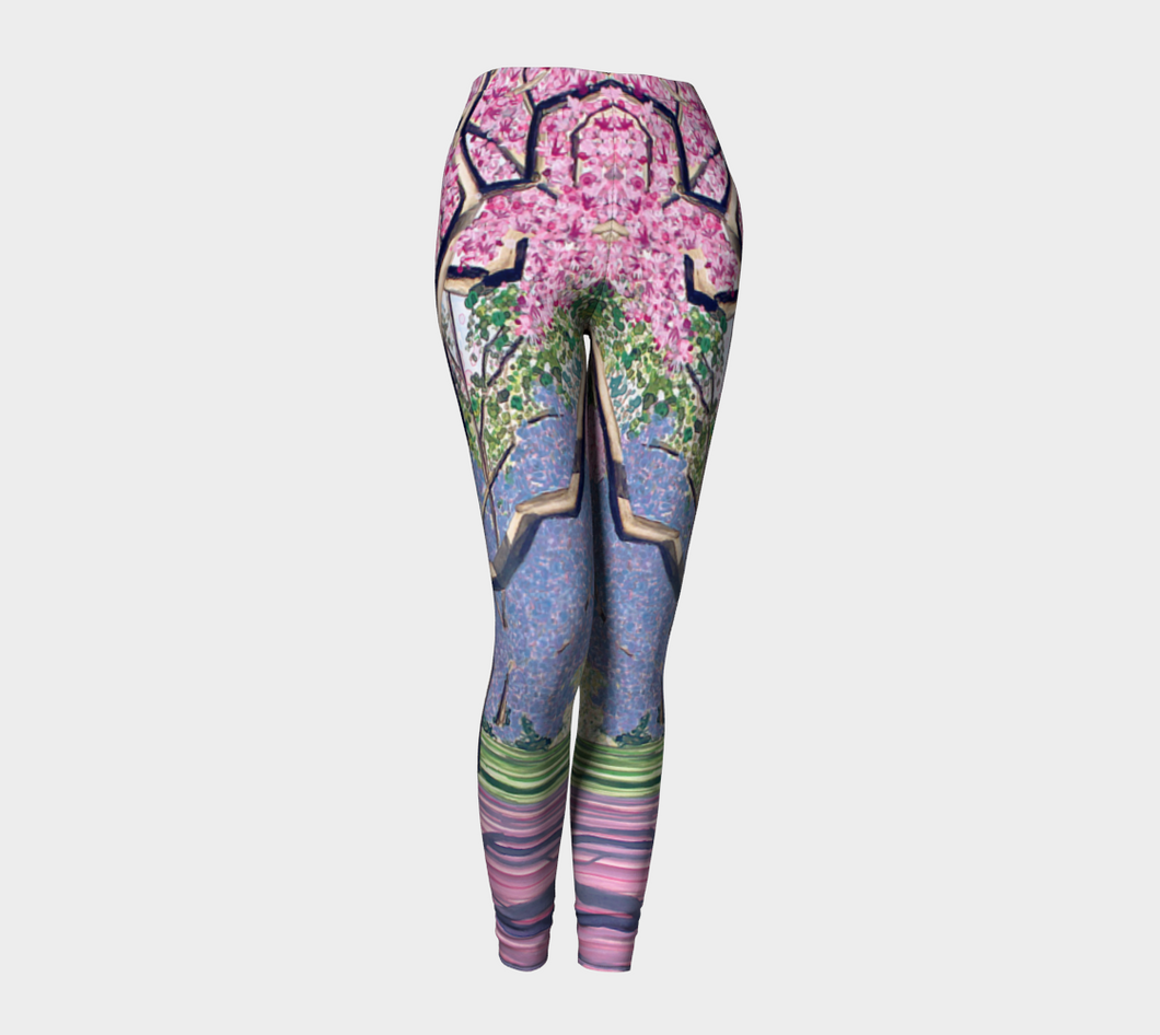 Cherry Blossoms Leggings