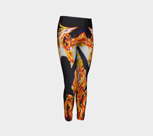 Load image into Gallery viewer, Phoenix Youth Leggings Sizes for Age 4 to 12