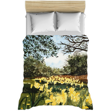Load image into Gallery viewer, Sun Gardens Daffodil Duvet Covers