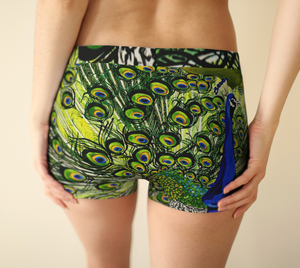 Peacock Boyshorts