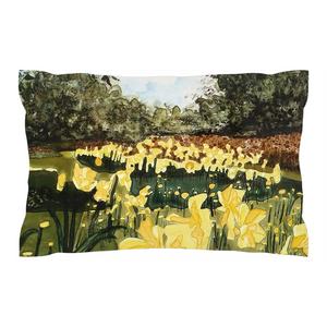 Sun Gardens Daffodil Pillow Shams