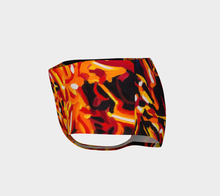 Load image into Gallery viewer, Hot Pants: Fire Mini Shorts
