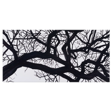 "Load image into Gallery viewer, Camus Winter Tree Bath Towels: 30"" x 60"""