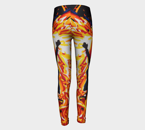 Phoenix Youth Leggings Sizes for Age 4 to 12