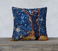 "Load image into Gallery viewer, Reach for the Stars 22"" x 22"" Pillowcase"