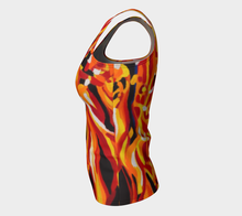 Load image into Gallery viewer, Phoenix Tank Top: Long Fit