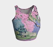 Load image into Gallery viewer, Cherry Blossoms Crop Top