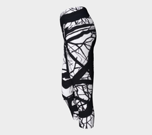 Load image into Gallery viewer, Camus Winter Tree Yoga Capris