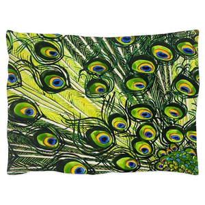 Peacock Pillow Shams