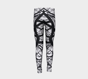 Camus Winter Tree Youth Leggings Sizes for Age 4-12