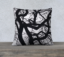 "Load image into Gallery viewer, Camus Winter Tree 22"" x 22"" Pillowcase"