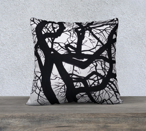 "Camus Winter Tree 22"" x 22"" Pillowcase"