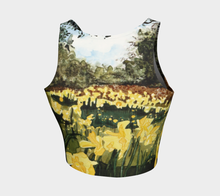 Load image into Gallery viewer, Sun Gardens Daffodil Crop Top