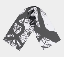 Load image into Gallery viewer, Camus Winter Tree Long Scarf
