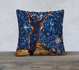 "Reach for the Stars 22"" x 22"" Pillowcase"