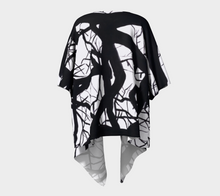 Load image into Gallery viewer, Camus Winter Tree Draped Kimono