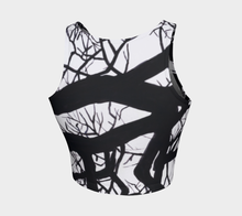 Load image into Gallery viewer, Camus Winter Tree Crop Top