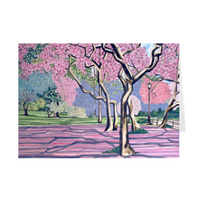 "Load image into Gallery viewer, Cherry Blossoms 5"" x 7"" Folded Cards"