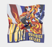 Load image into Gallery viewer, VOTE! Your Voice Matters Art Scarf