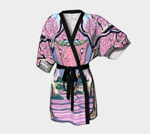 Load image into Gallery viewer, Cherry Blossoms Kimono Robe