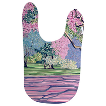 Load image into Gallery viewer, Cherry Blossom Baby Bibs