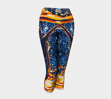 Load image into Gallery viewer, Reach for the Stars Yoga Capri