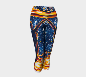 Reach for the Stars Yoga Capri