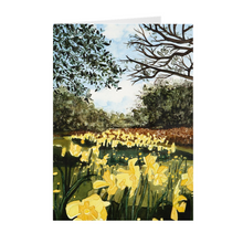 "Load image into Gallery viewer, Sun Gardens Daffodils 7"" x 5"" Folded Cards"
