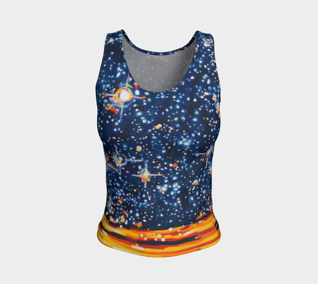 Reach for the Stars Tank Top: Regular Fit